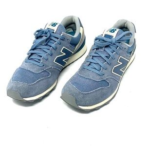 New Balance Classic 696 blue Women Sneakers 7.5